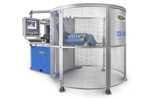 Dabew - Maszyna CNC do gięcia drutu o dużej średnicy